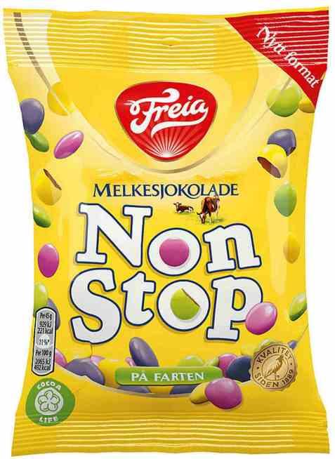 Bilde av Freia Nonstop melk 45 gr minipose.