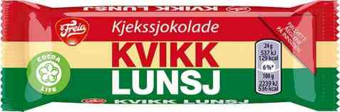 Bilde av Freia Kvikk Lunsj mini 24 gr.