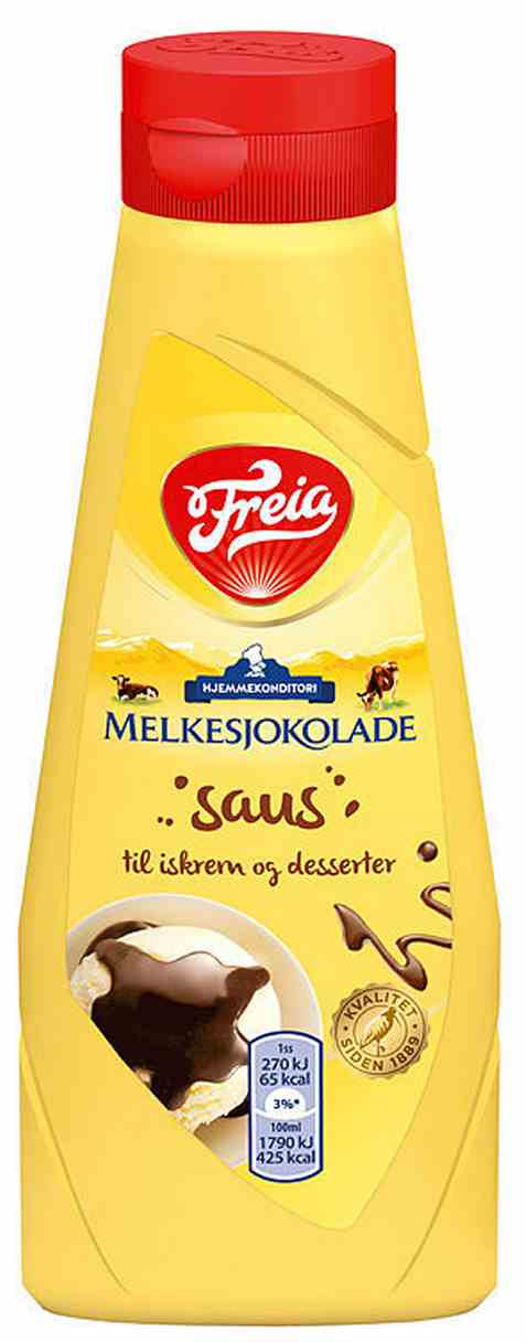 Bilde av Freia sjokoladetopping melkesjokolade.