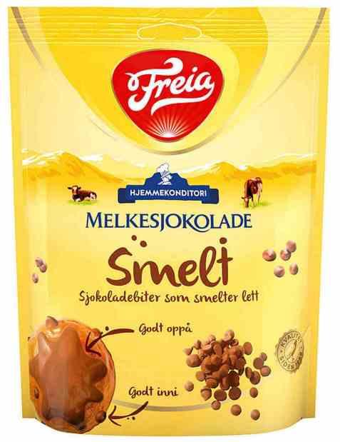 Bilde av Freia Melkesjokolade smelt 200 gr.