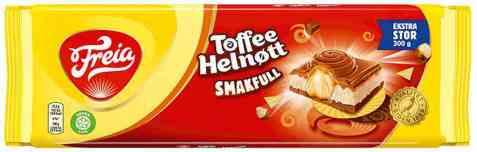 Bilde av Freia smakfull Melkesjokolade toffee helnøtt.
