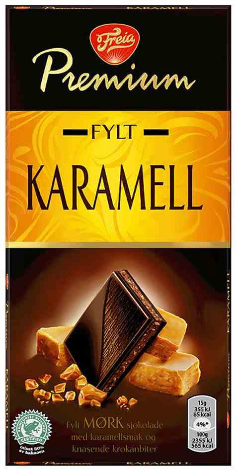 Bilde av Freia Premium karamell 150 gr.