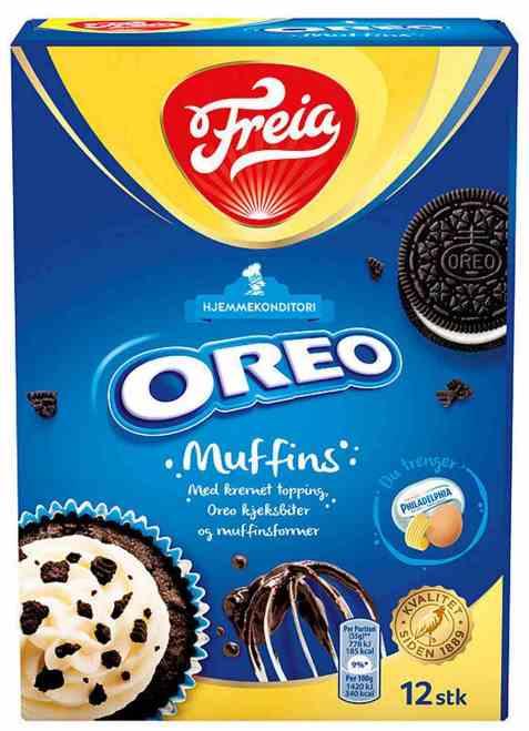 Bilde av Freia Oreo muffins miks 280 gr.