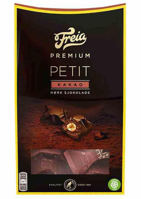 Bilde av Freia Premium petit mørk 100 gr.