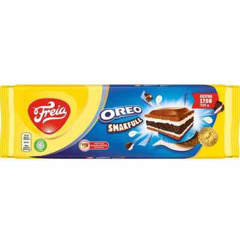 Bilde av Freia smakfull Oreo sjokolade.