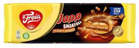 Bilde av Freia smakfull japp peanøtt og karamell.