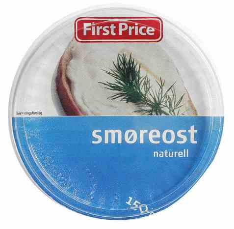 Bilde av First Price smøreost naturell.