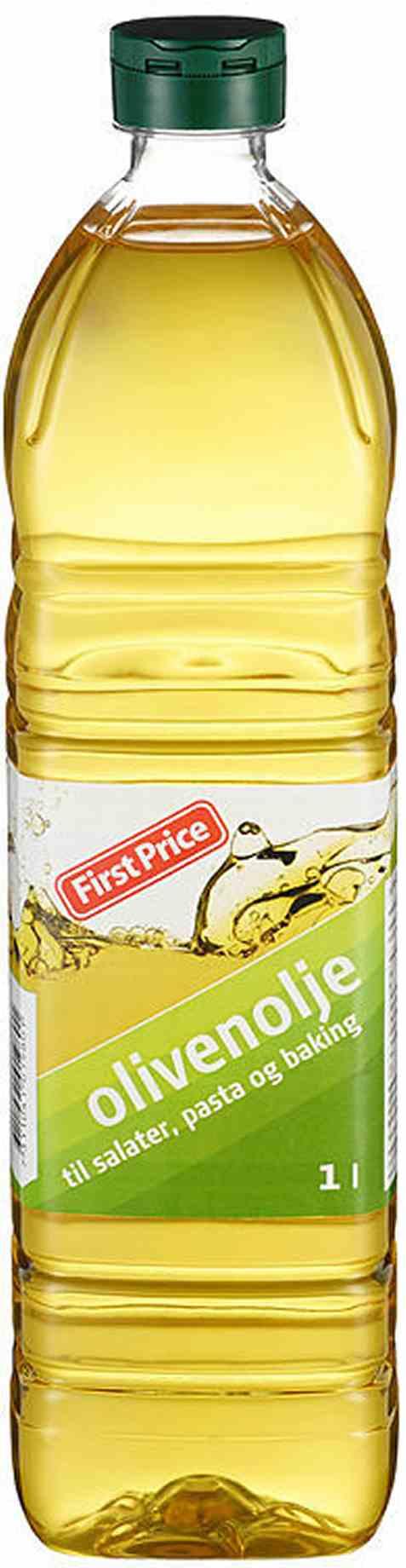Bilde av First Price olivenolje.