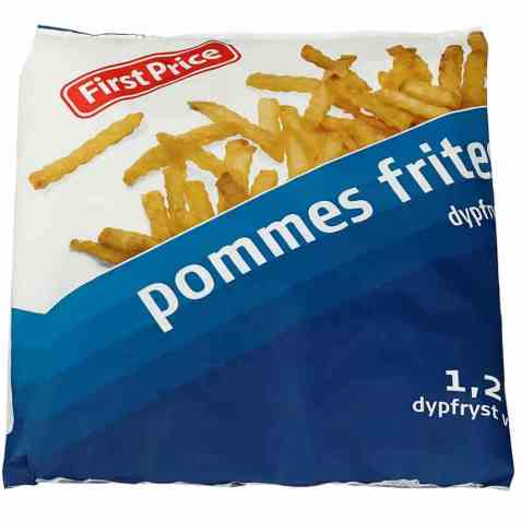 Bilde av First Price pommes frites.