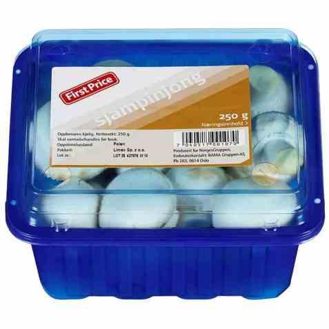 Bilde av First Price sopp champignon.
