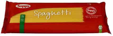 Bilde av Sopps spaghetti 1 kg.