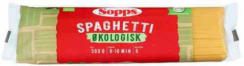 Bilde av Sopps Spaghetti økologisk.