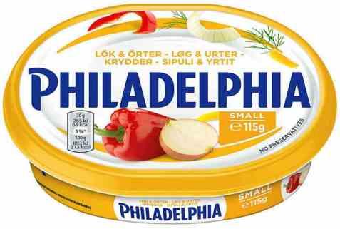Bilde av Philadelphia løk og urter.
