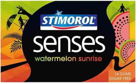 Bilde av Stimorol senses watermelon sunrise.