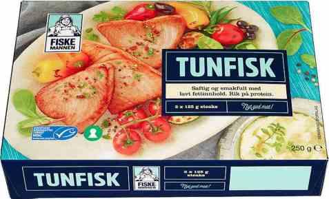 Bilde av Fiskemannen tunfisk steaks 250 gr.