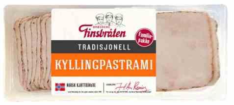 Bilde av Finsbråten kylling pastrami.