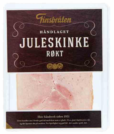 Bilde av Finsbråten røkt juleskinke.