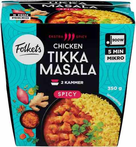 Bilde av Folkets chicken tikka masala 350 gr.