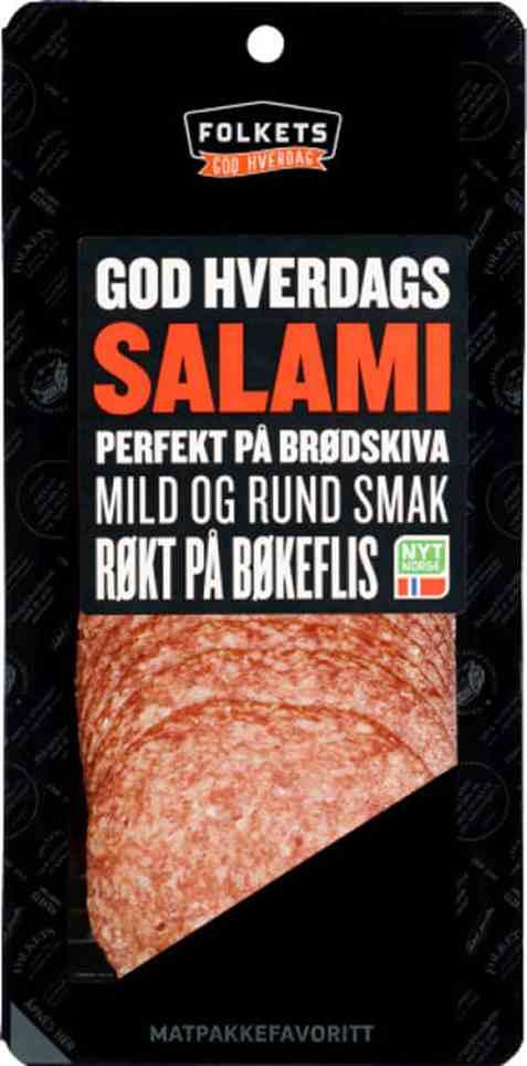 Bilde av Folkets salami 150 gr.