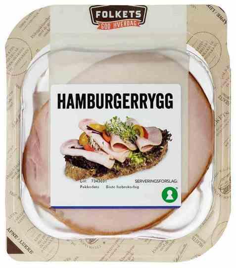 Bilde av Folkets hamburgerrygg 150 gr.