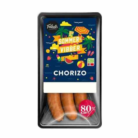 Bilde av Folkets chorizo 80 prosent 270 gr.
