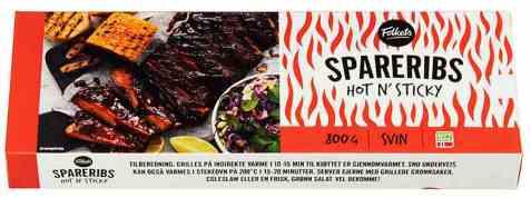 Bilde av Folkets shortribs hot and spicy.