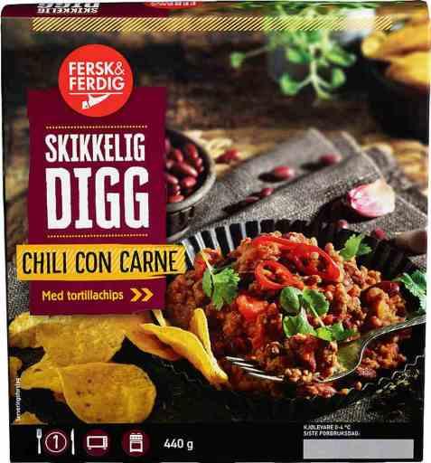 Bilde av Fersk og ferdig chili con carne.