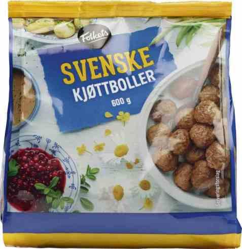 Bilde av Folkets svenske kjøttboller.