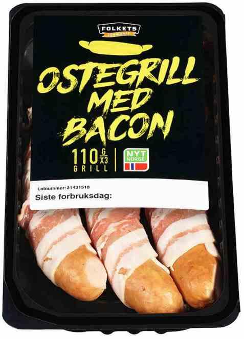 Bilde av Folkets ostegrill med bacon kiwi.