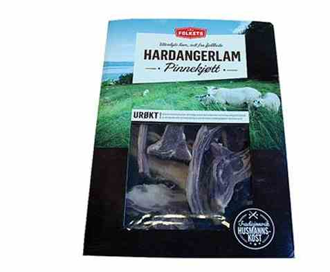 Bilde av Folkets Pinnebog Hardangerlam.