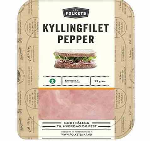 Bilde av Folkets kyllingfilet pepper.