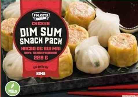 Bilde av Folkets Dimsum snack pack.