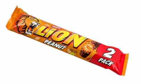 Bilde av Nestle Lion peanut 60 gr.