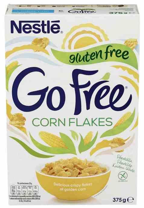 Bilde av Nestle gofree cornflakes glutenfri.