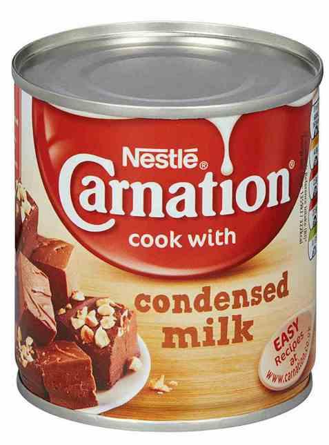 Bilde av Nestle carnation kondensert melk.