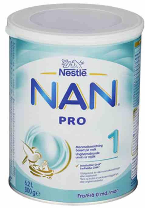 Bilde av Nestle nan pro 1 hmo fra 0 mnd.