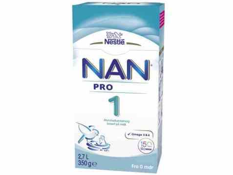 Bilde av Nestle nan pro 1 hmo fra fødsel.