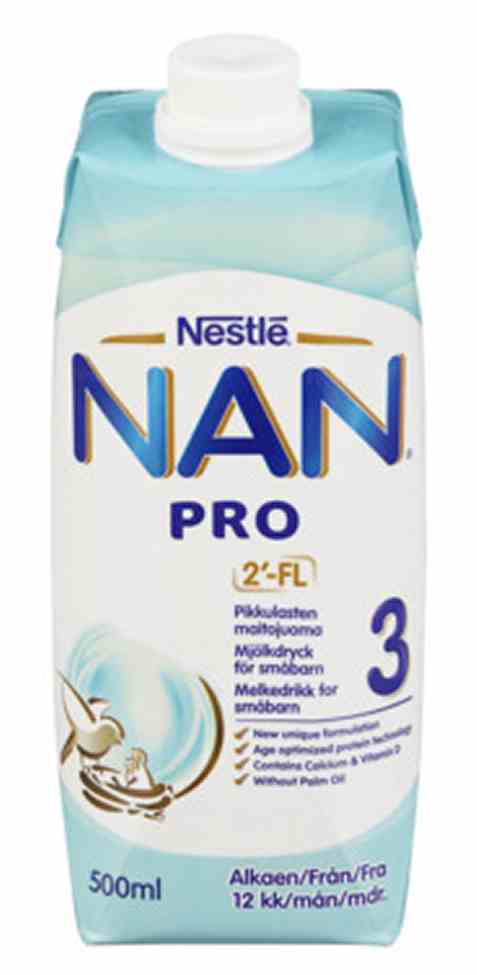 Bilde av Nestle nan pro 3 drikkeklar juniormelk fra 10 mnd.