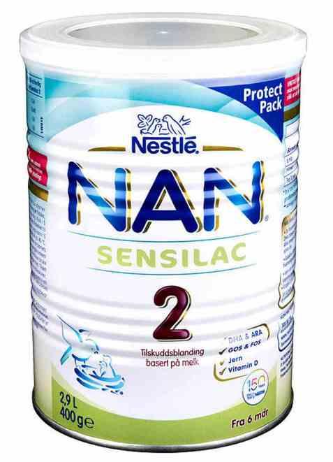 Bilde av Nestle nan 2 sensilac fra 6 mnd.