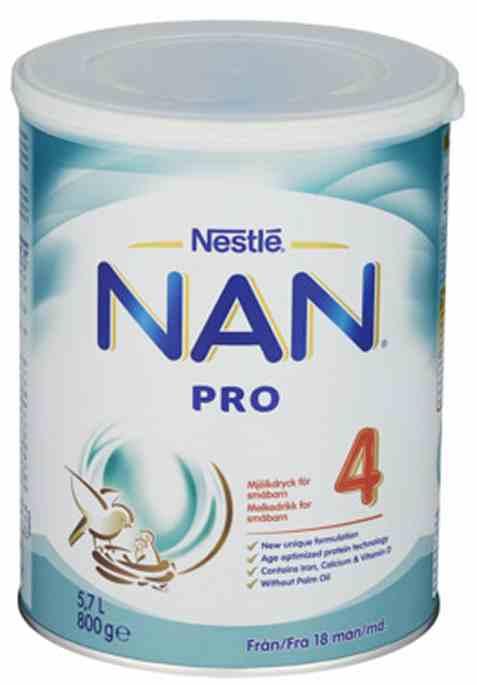 Bilde av Nestle nan pro 4 juniormelk fra 15 mnd.