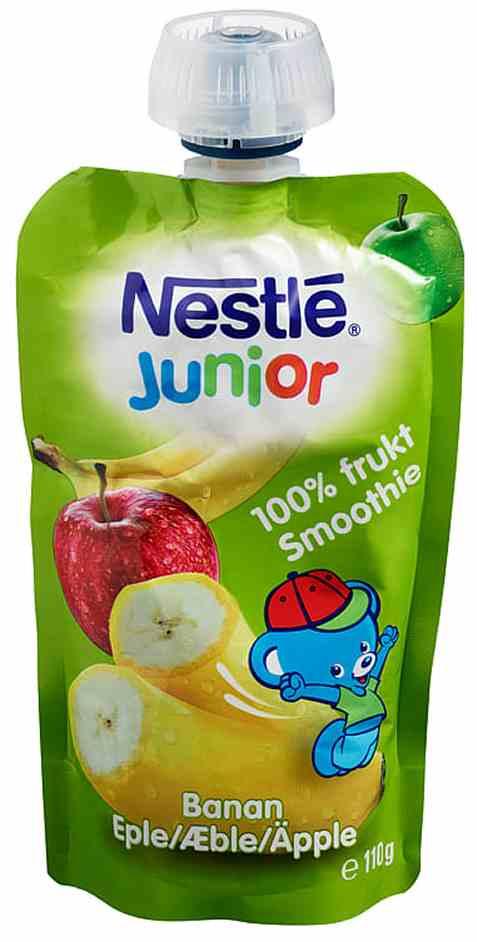 Bilde av Nestlé Junior smoothie eple og banan.