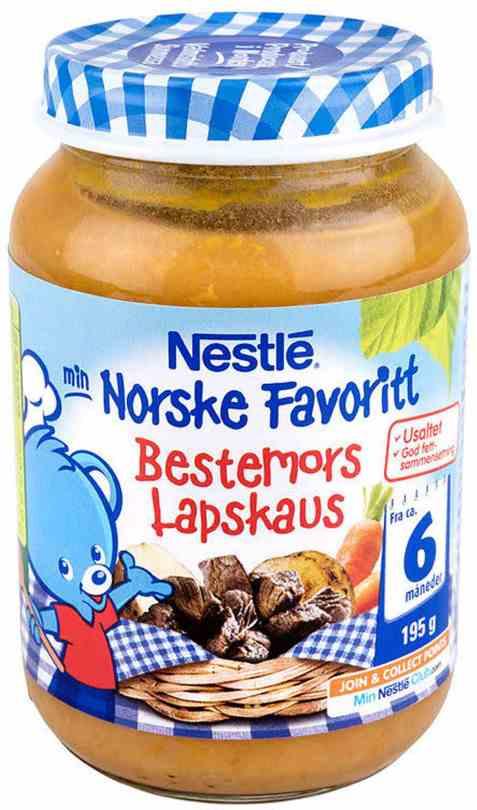 Bilde av Nestle norske favoritter bestemors lapskaus 6 mnd.