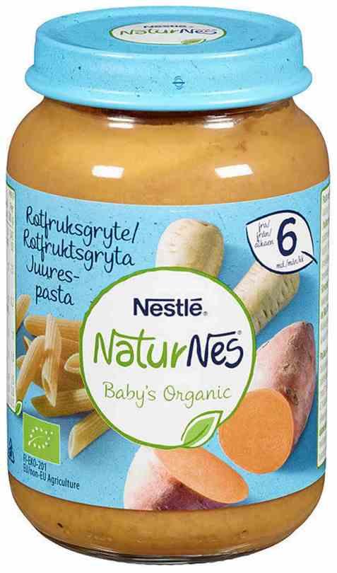 Bilde av Nestlé naturnes økologisk rotfruktsgryte 6 mnd.