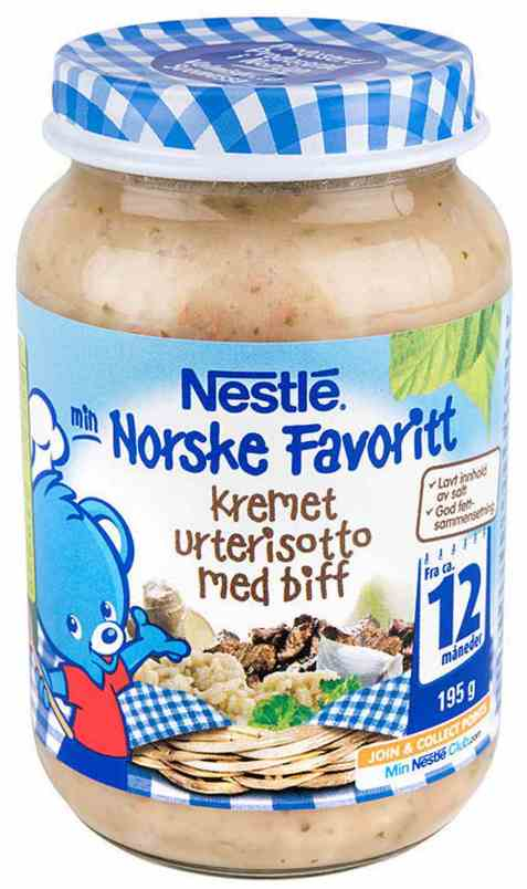 Bilde av Nestle norske favoritter kremet urterisotto 12 mnd.