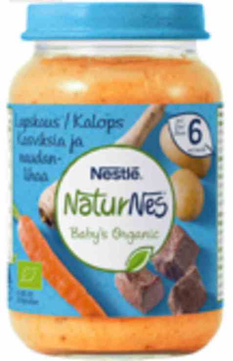 Bilde av Nestlé naturnes økologisk lapskaus 6 mnd.