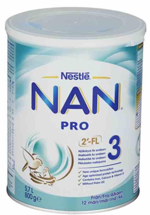 Bilde av Nestle nan pro 3 juniormelk fra 10 mnd.
