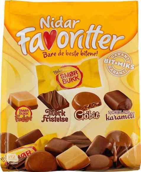 Bilde av Nidar favoritter smørbukk.