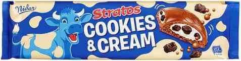 Bilde av Nidar Stratos cookies and cream 185 gr.