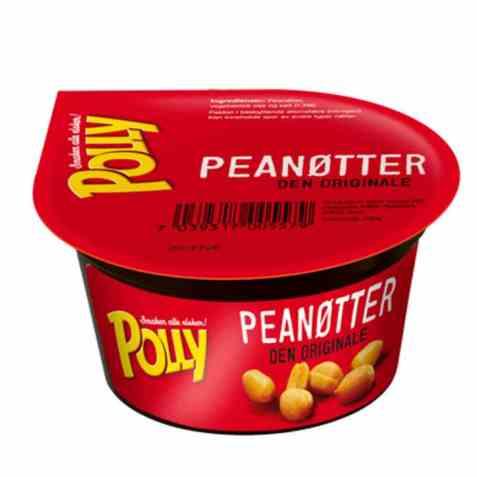 Bilde av Polly peanøtter 100 gr.
