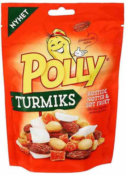 Bilde av Polly turmiks røstede nøtter.